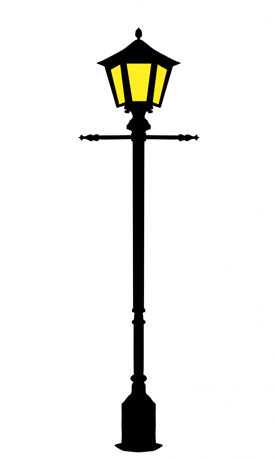 Street Light clipart post Stock Public Lighting Photo Street