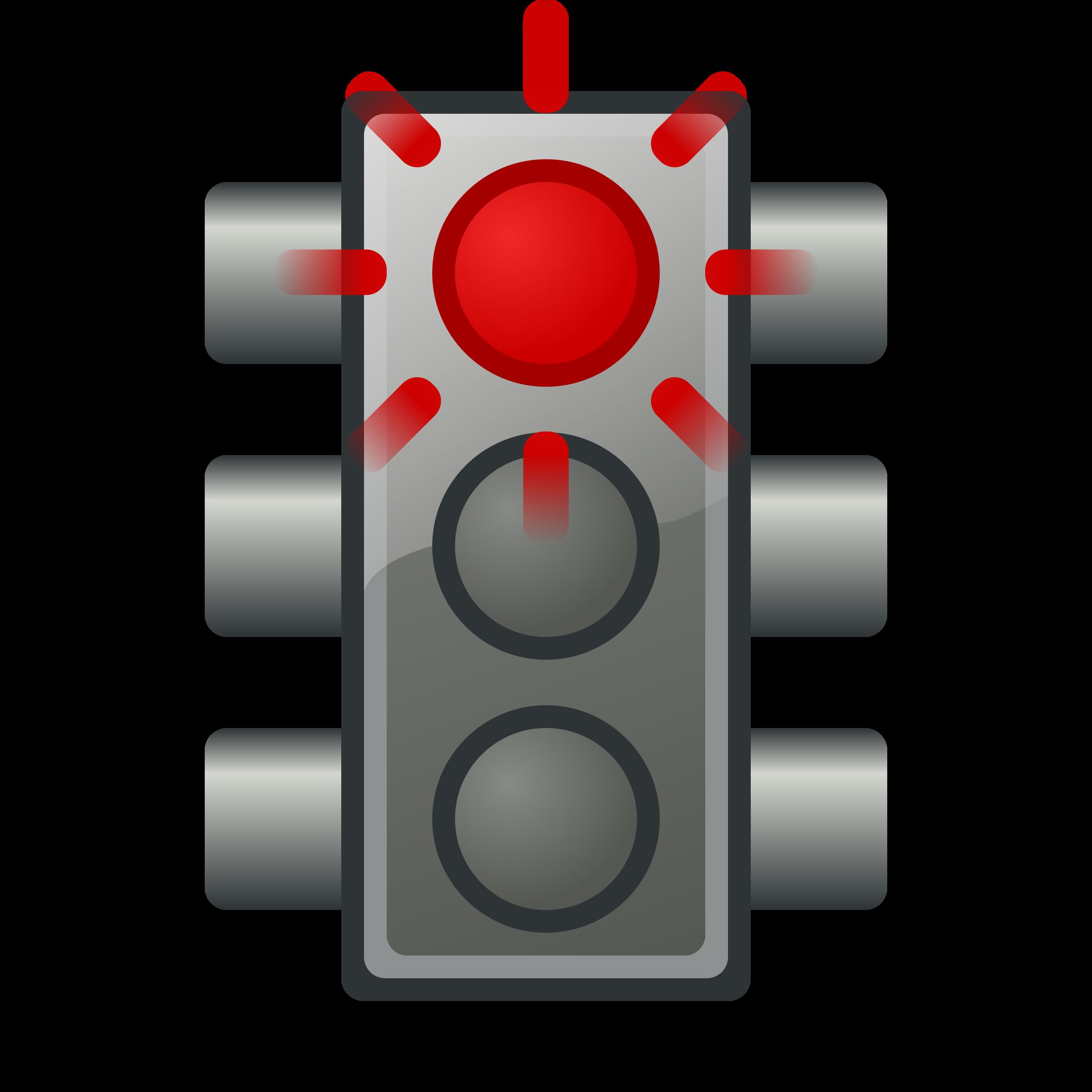 Traffic Light clipart red Clipart light Flashing red traffic