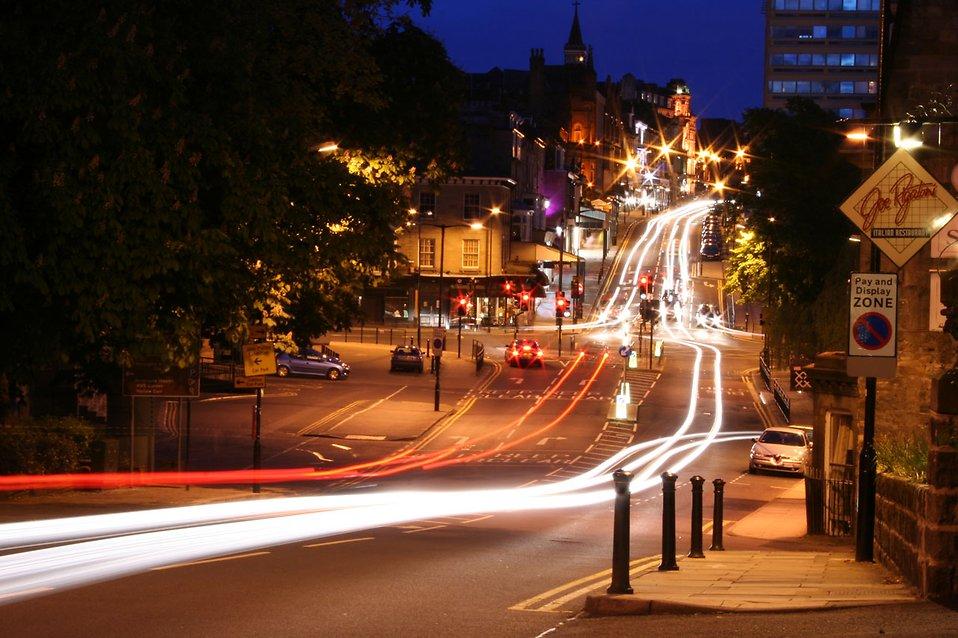 Street Light clipart trafic Street Free in Traffic night