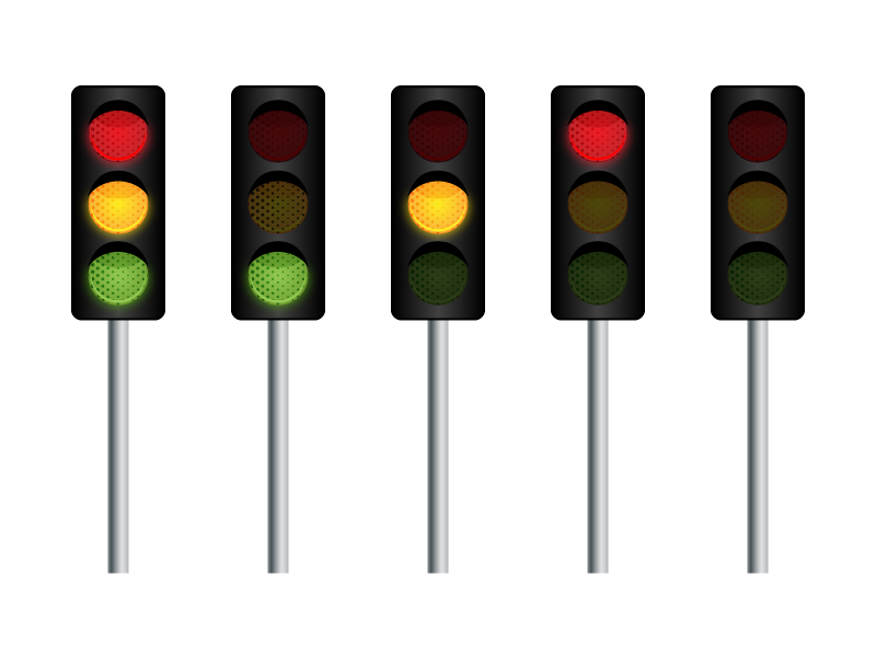 Traffic clipart red light Free Clip Clip Light Download