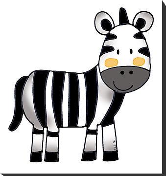 Zebra clipart cute Free Baby Zebra  Zebra