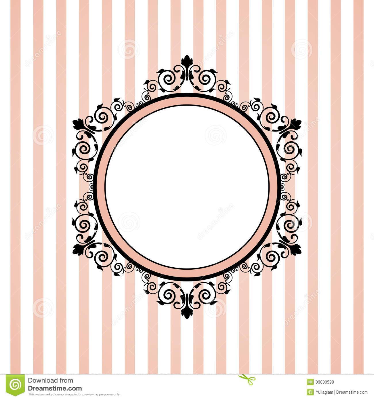 Stripe clipart frame #12