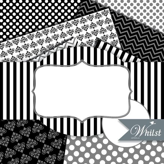 Stripe clipart frame #9