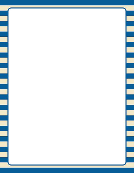 Stripe clipart frame #14