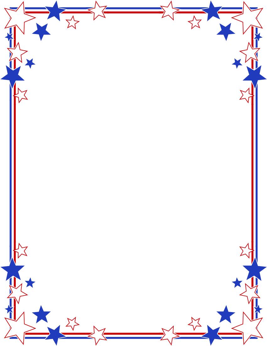 Stripe clipart frame #10