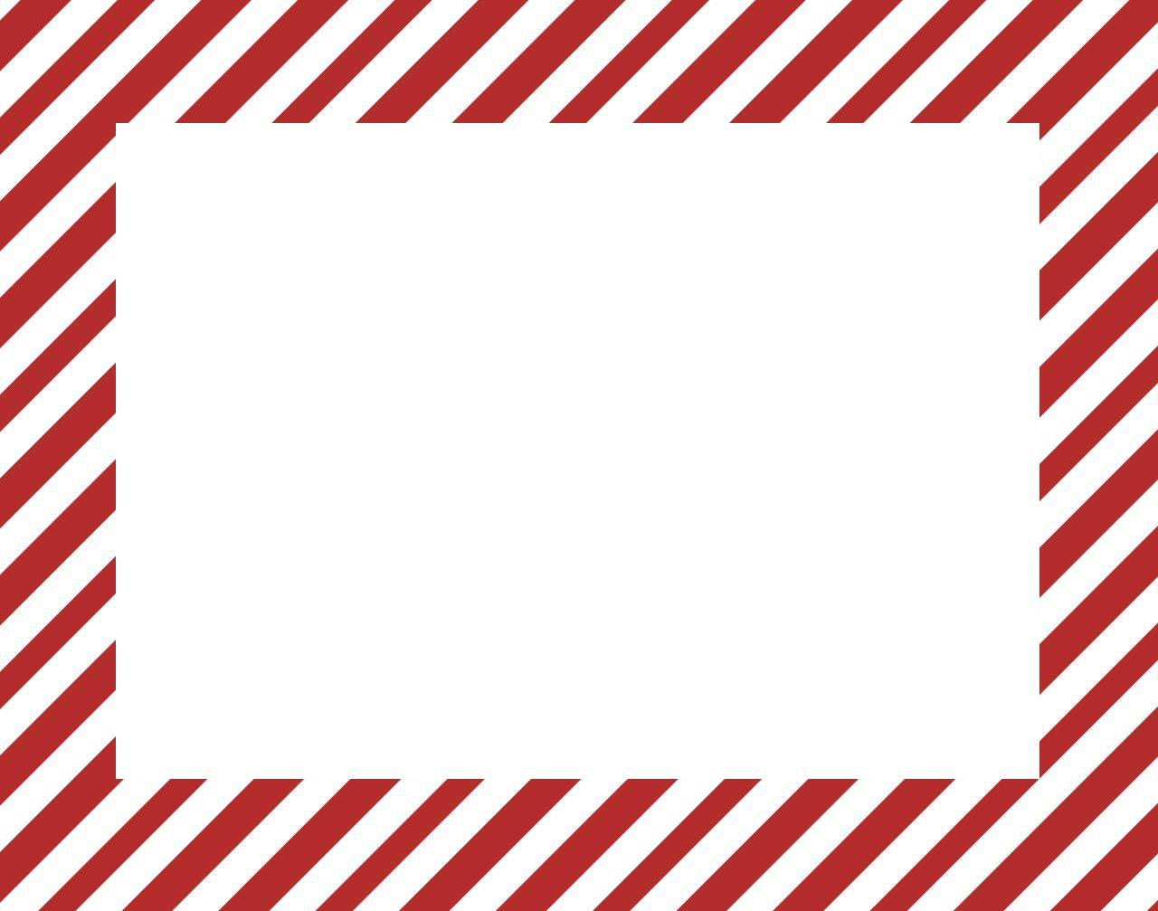 Stripe clipart frame #15
