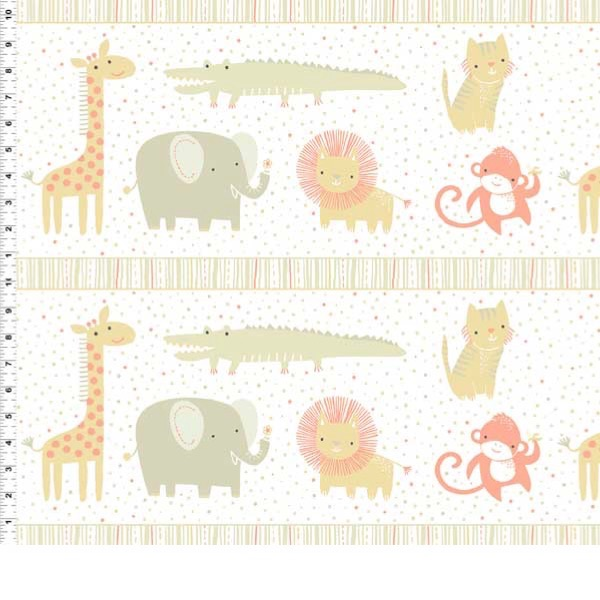 Stripe clipart jungle animal Cotton Animal Safari Cream Sweet