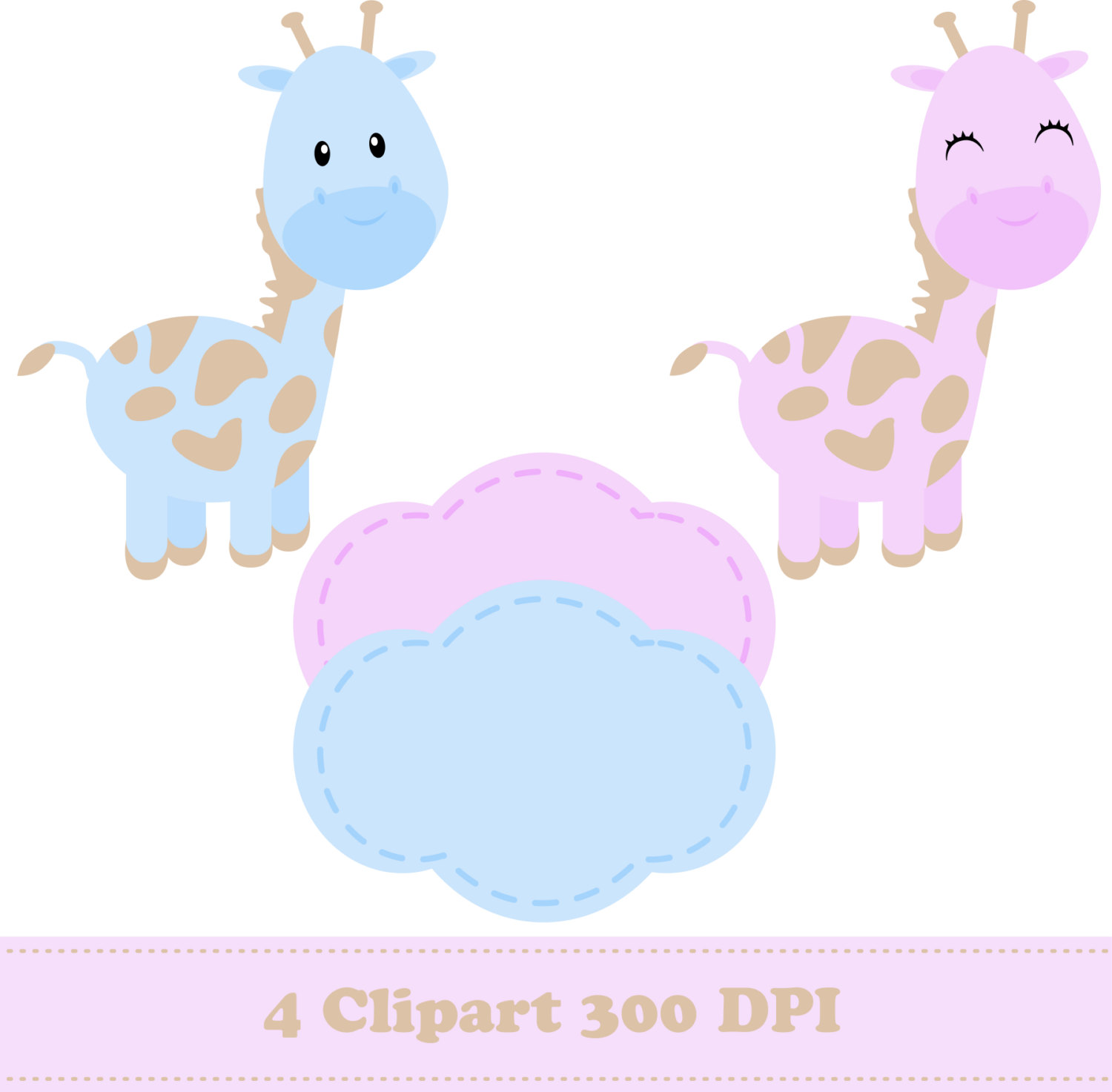 Stripe clipart jungle animal Zoo Animals digital This
