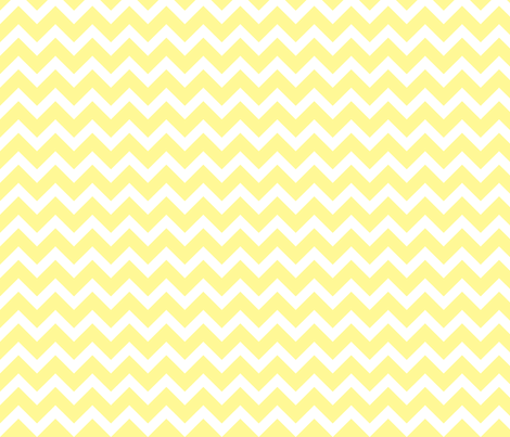 Stripe clipart pastel yellow Fabric Spoonflower Chevron Yellow
