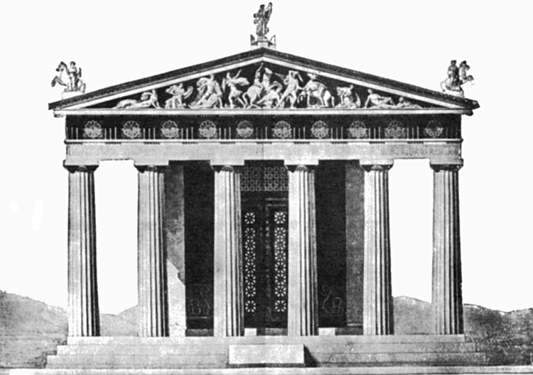 Structure clipart ancient greece building Greek Facts Ancient Rex Kids