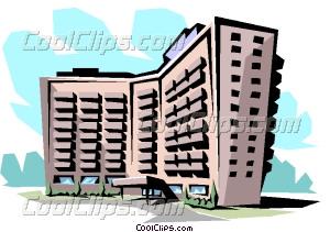 Structure clipart apartment building Clip Apartment art building Vector