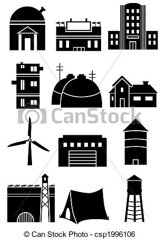 Structure clipart black and white Structure  Illustration Stock Generic