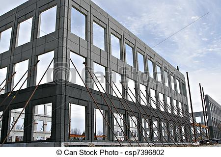 Structure clipart commercial building HOME