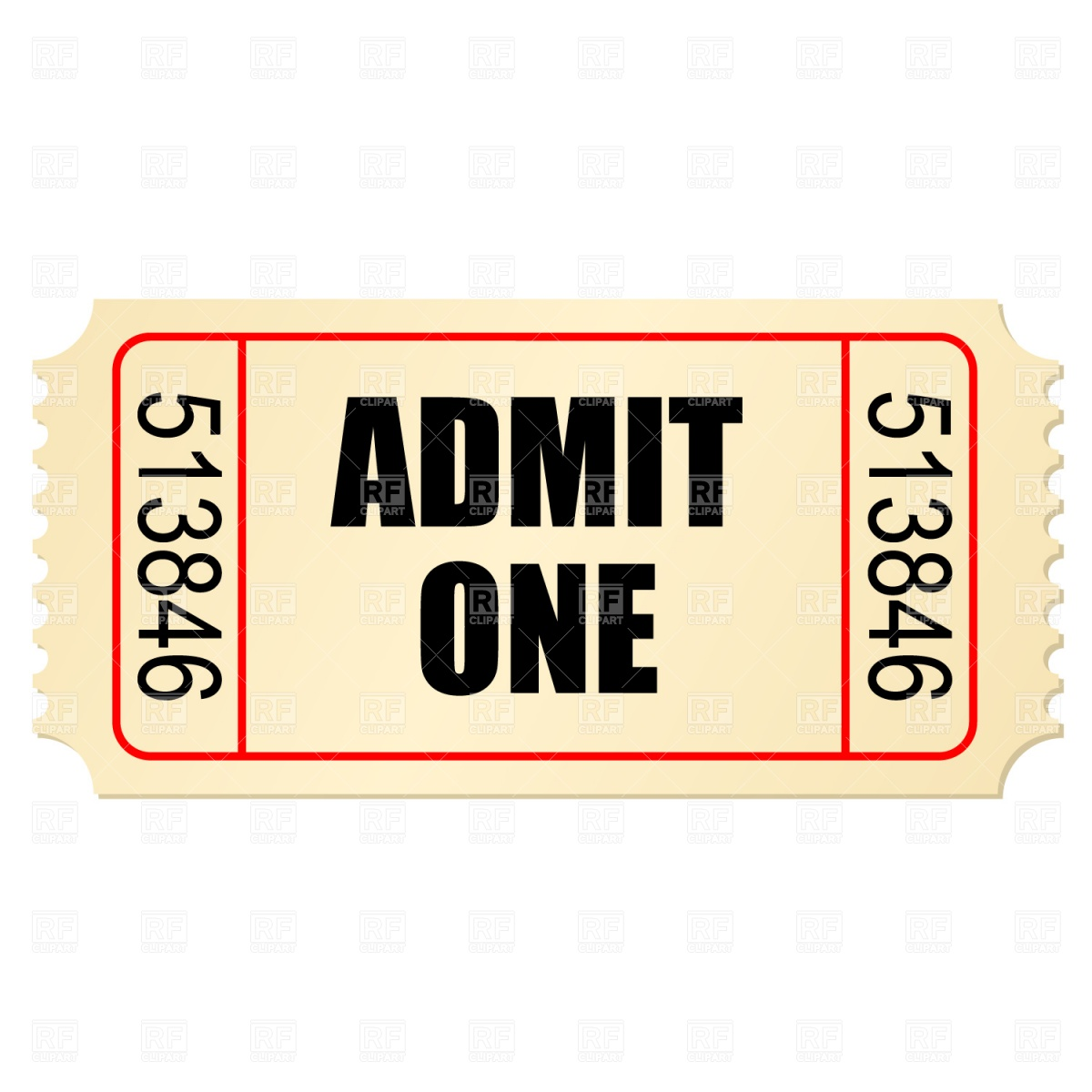 Stub clipart Stub Stub Ticket Clipart cliparts