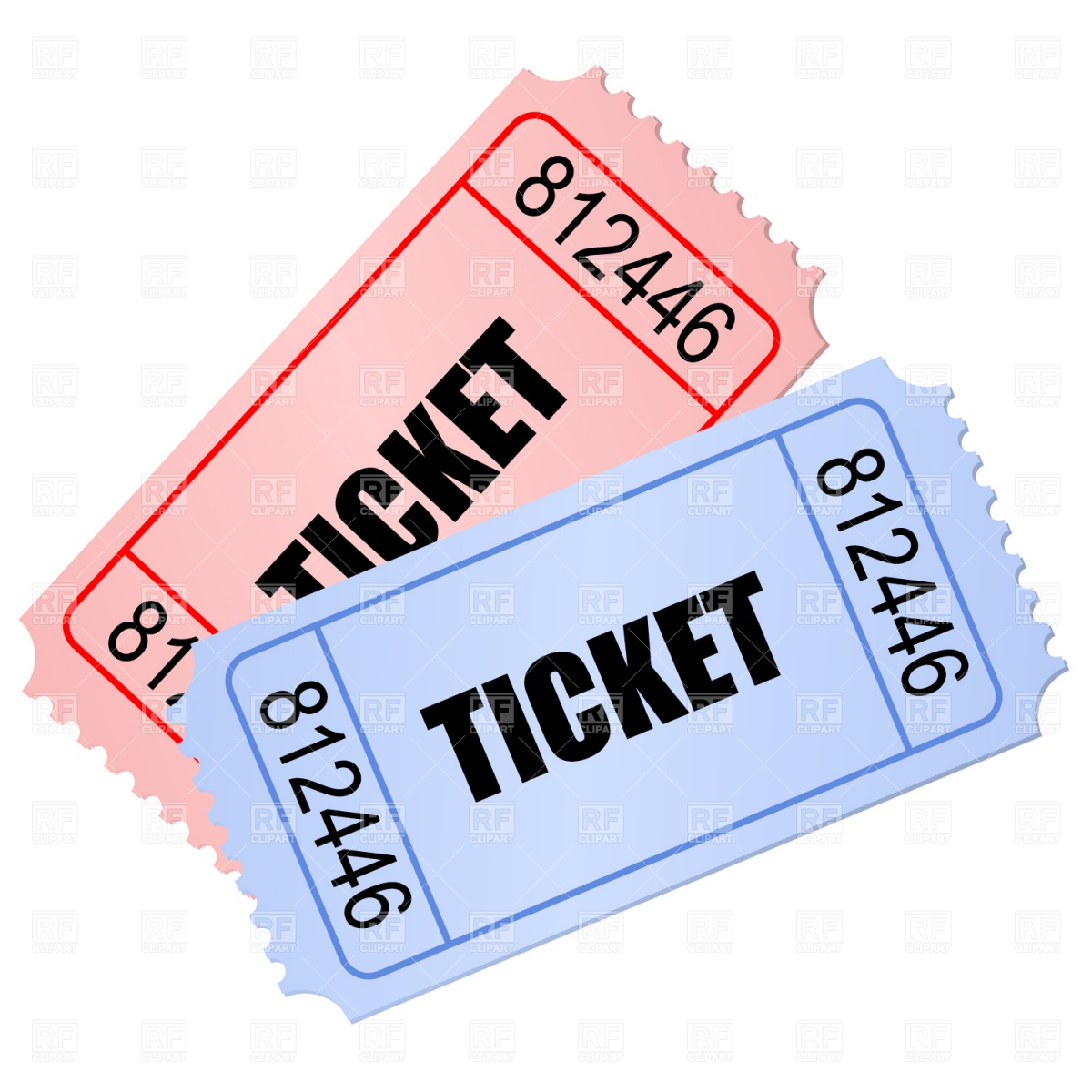 Stub clipart Free ticket Collection ticket Clipart