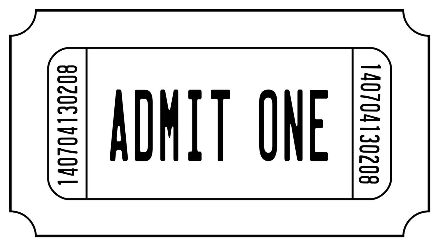 Stub clipart Art Ticket ticket Free clipart