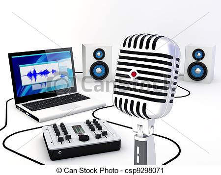 Actor clipart video recorder Studio Clipart Equipment For
