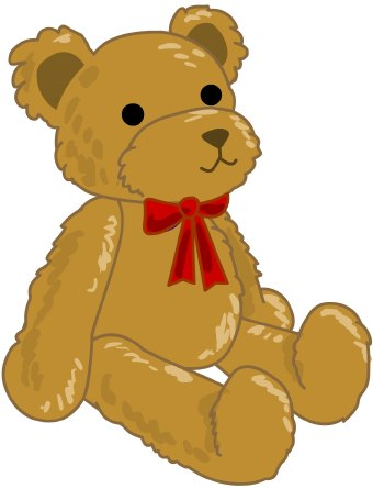 Teddy clipart toy  library Clip Download Art