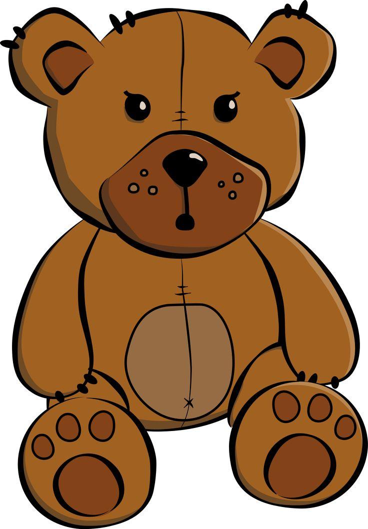 Teddy clipart face #8