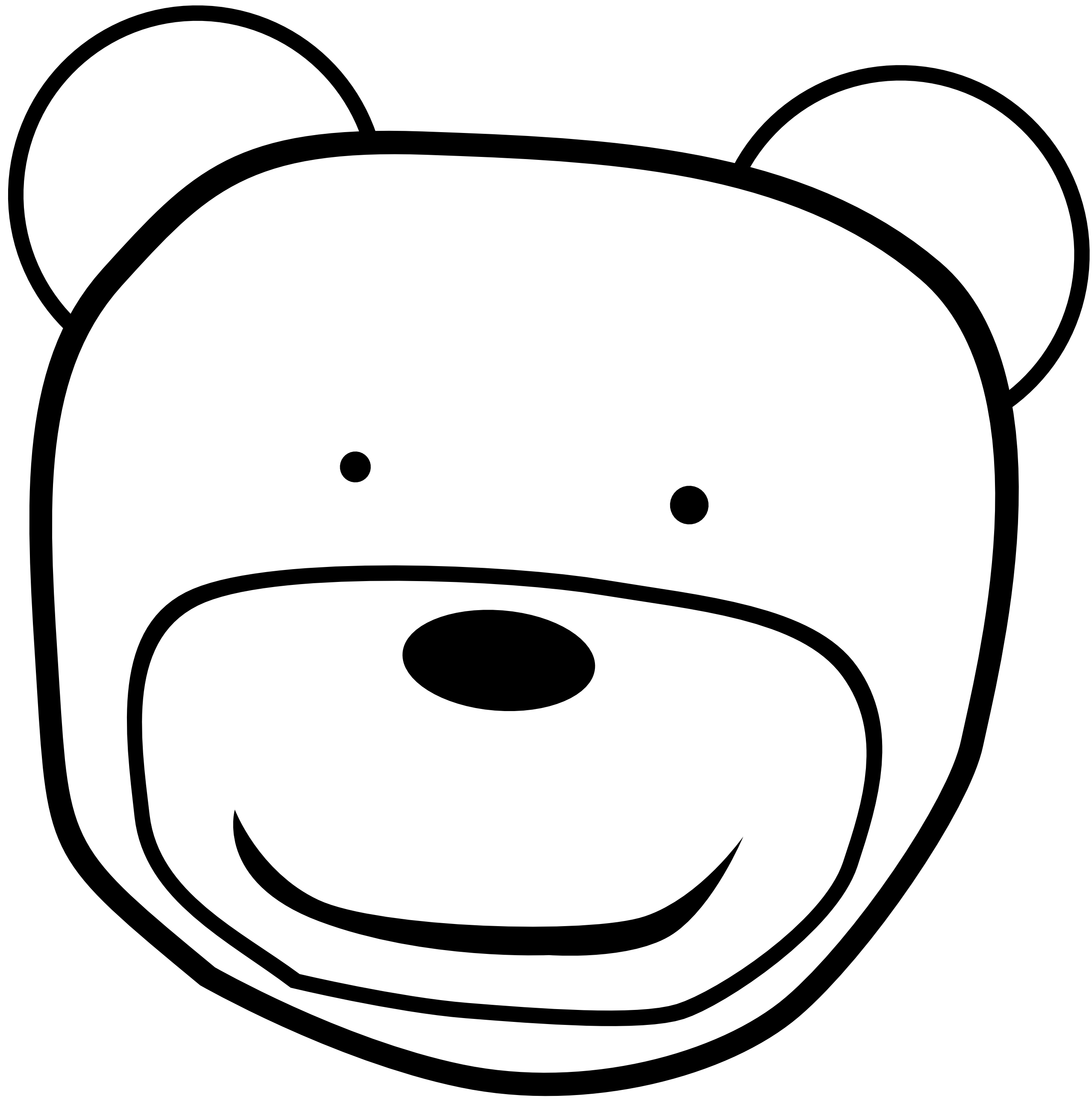 Teddy clipart head #15