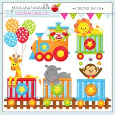 Decoration clipart circus $3 on scrapbooking crafts Wild