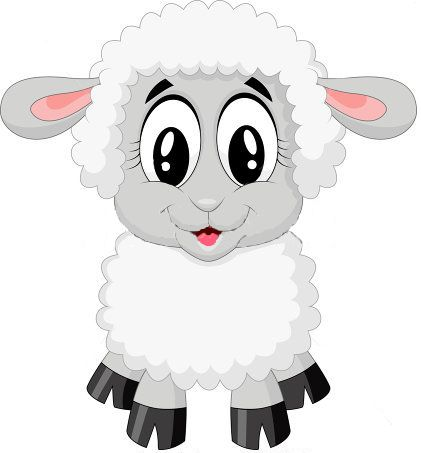 Baby Animal clipart baby lamb Cute collection animals about 774