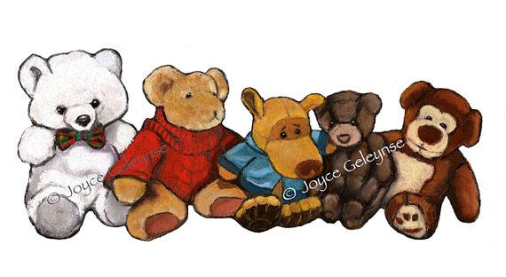 Teddy clipart stuffed animal #6