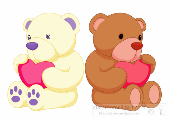 Teddy clipart two For toy clipart From: clipart