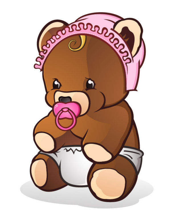 Teddy clipart toy doll #5