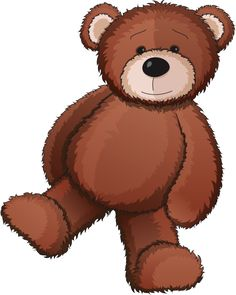Brown Bear clipart soft toy NOUNOURS Pinterest tubes and Animais