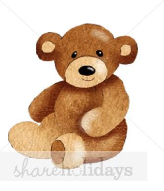 Teddy clipart stuffed animal #10