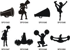 Stunt clipart black and white Clip Clip Cliparts art alt=Cheerleader