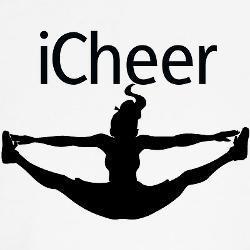 Stunt clipart black and white Black And Cheerleading Stunts Stunts
