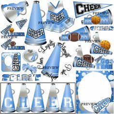 Stunt clipart blue cheer Amandakeyt  Step Cheerleading free