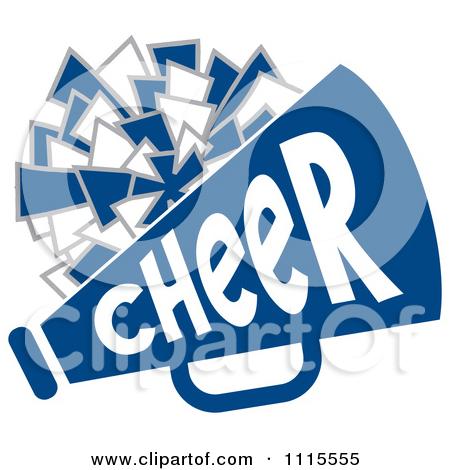 Stunt clipart blue cheer Cheerleader And Pom Cheerleader Backgrounds