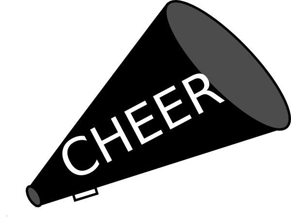 Club clipart megaphone Art Download Stunt Cheerleader cheer