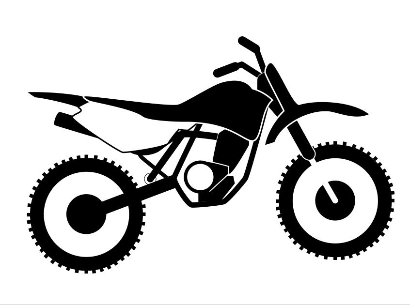 Stunt clipart dirt bike Clipart clipart dirt cross clipart