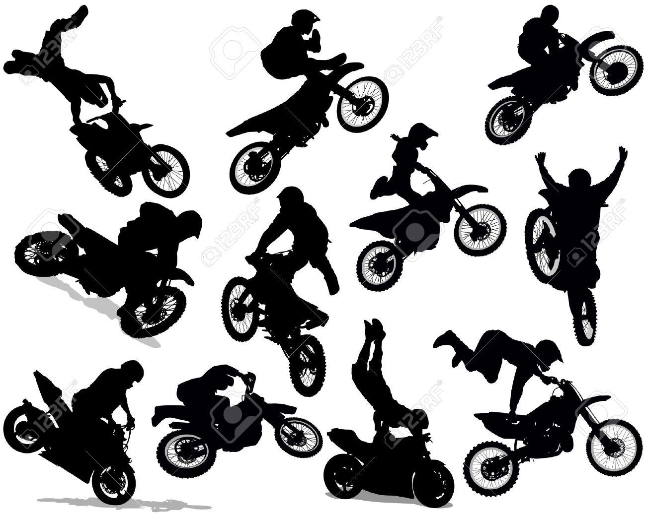 Stunt clipart motocross helmet Google vintage vector vector Search