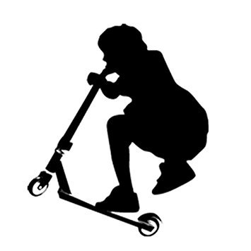 Stunt clipart motorbike Stunt Teenager Transfer Scooter Motorcycle