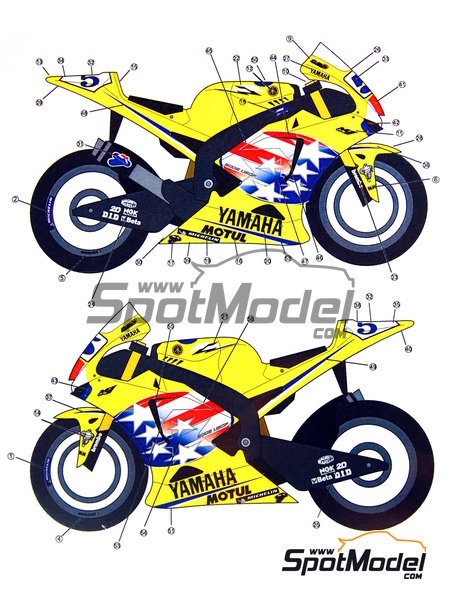 Stunt clipart yamaha #5 scale YZR  manufactured