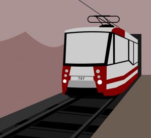 Tram clipart subway train Clip Metrotram) Art Download Tramway
