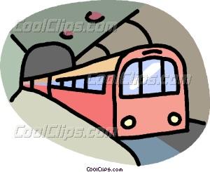Subway clipart Transportation transportation subway art Vector