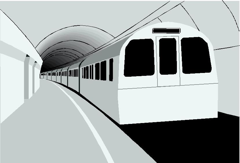 Underground clipart railway platform Clipart graphics clipart subway Transports