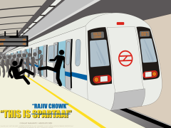 Subway clipart delhi metro Posters on  Someone Videos