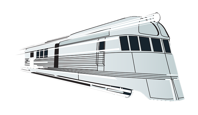 Train clipart modern train #5