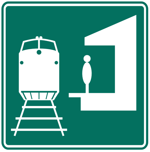 Subway clipart railway platform Symbol Train Amtrak Train Sites