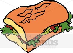 Subway clipart subway restaurant Sandwich collection Sandwich Clipart Sub