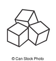 Sugar clipart Stock and cubes 507 icon