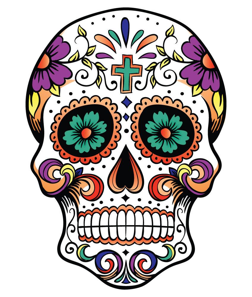 Sugar Skull clipart Clipart Download Skull Pretty Skull