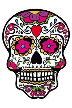 Sugar Skull clipart pattern Skull Day of Clipart skull